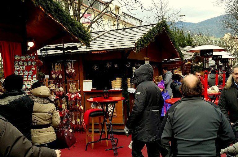 Südtirol Bruneck Weihnachtsmarkt