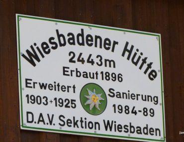 An der Wiesbadener Hütte