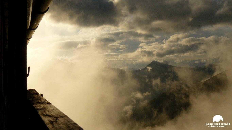 Wetterumschwung am Watzmann – Bergtour zum Watzmann Hocheck