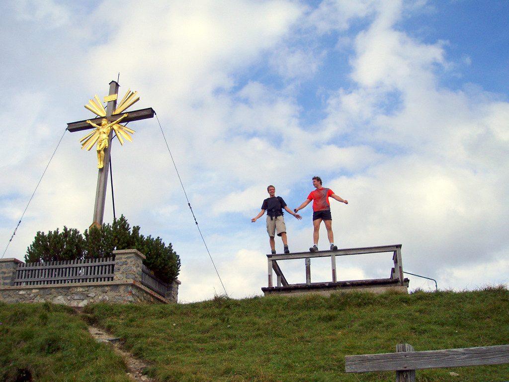 Wank Gipfelkreuz