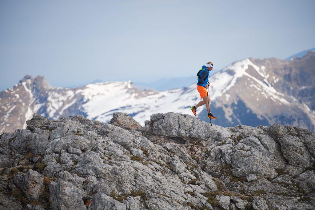 Wer hoch hinaus will liegt mit deisem Trailrunningschuh bestimmt nicht falsch.