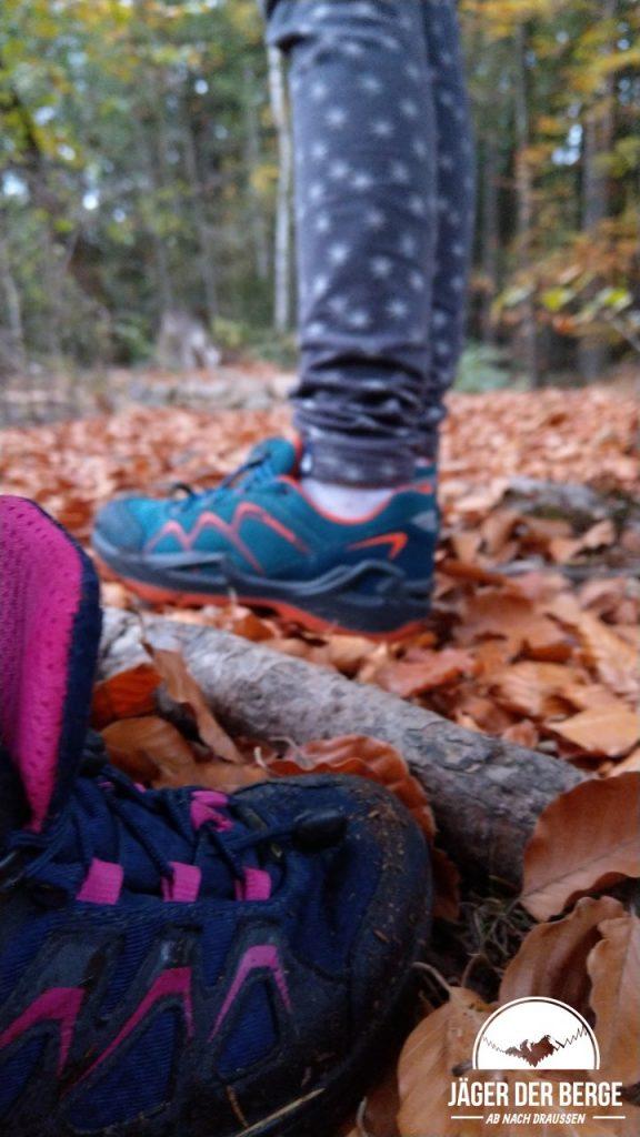 LOWA Kinderschuhe im Herbst - ROBIN GTX lo & INNOX GTX mid