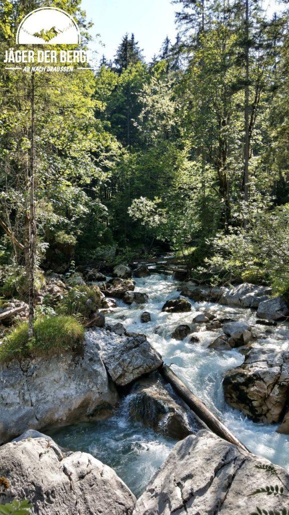 Die riesigen Felsblöcke im Zauberwald