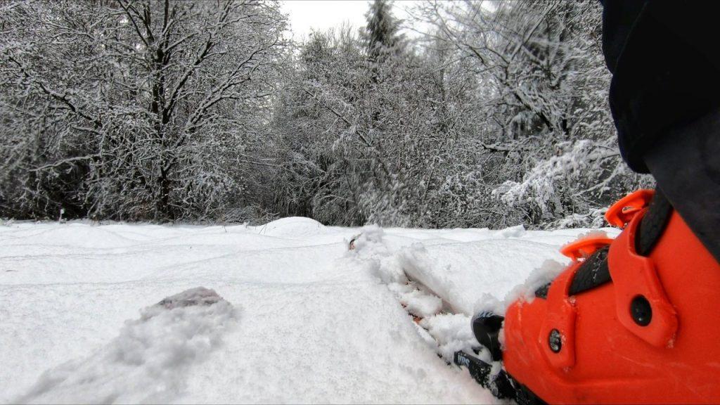 Auf Skitour in Taunusstein